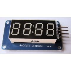 4 Way 7 Segment Display System
