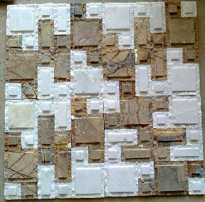 Mosaic Stacking Stone 05