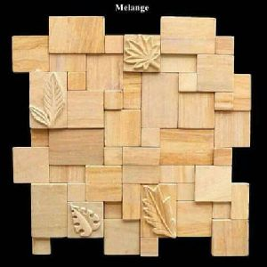 Mosaic Stacking Stone 07