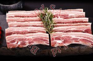 Frozen Pork Belly Slices