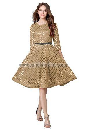 D-33 Maxican Chiku Western Dress