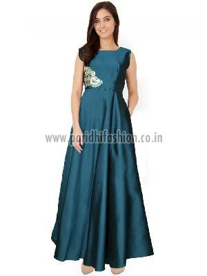 G-04 C Paris Green Gown