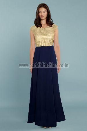Olay Blue Gown
