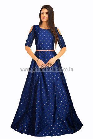 G-59 Sofia Blue Gown