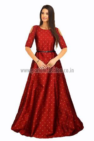 G-61 Sofia Red Gown