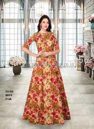 8072 Zorba Green Gown