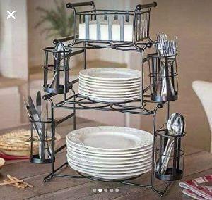 Stackable Buffet Caddy Set 03