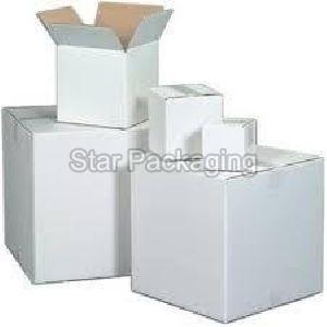Duplex White Corrugated Boxes