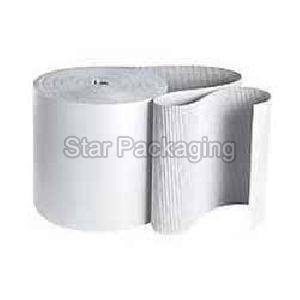 Duplex White Corrugated Rolls