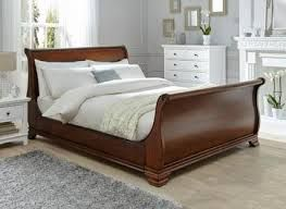 Wooden Bed Without Drawers