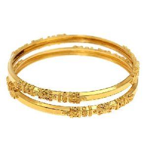 Gold Bangles 06