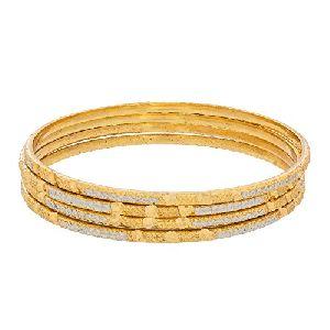Gold Bangles 07