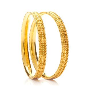 Gold Bangles 08