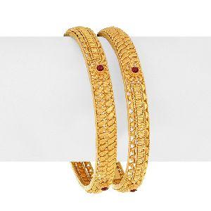 Gold Bangles 10