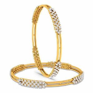 Gold Bangles 11
