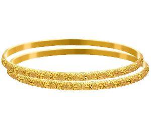 Gold Bangles 12