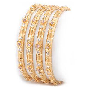Gold Bangles 14