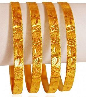 Gold Bangles 15