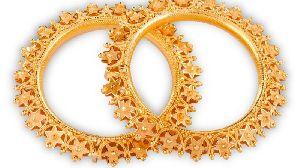 Gold Bangles 16