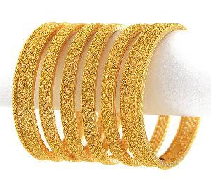 Gold Bangles 21