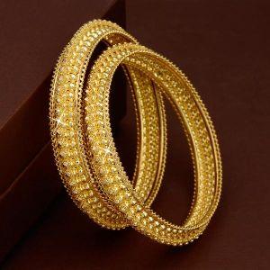 Gold Bangles 23