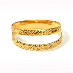 Gold Bangles 24