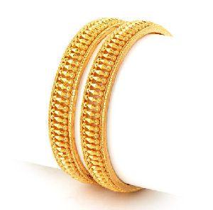 Gold Bangles 25