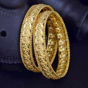 Gold Bangles 26