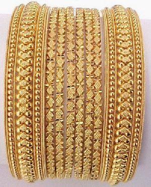Gold Bangles 27