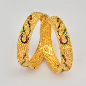 Gold Bangles 32