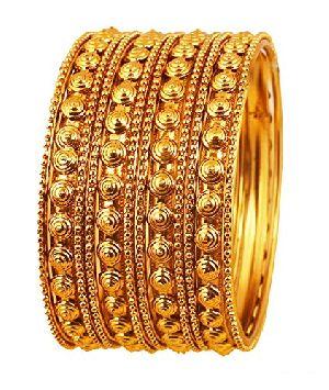 Gold Bangles 33