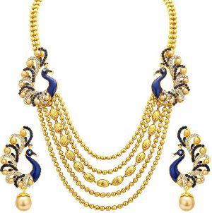Gold Necklace Set 02