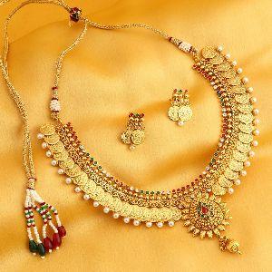 Gold Necklace Set 11