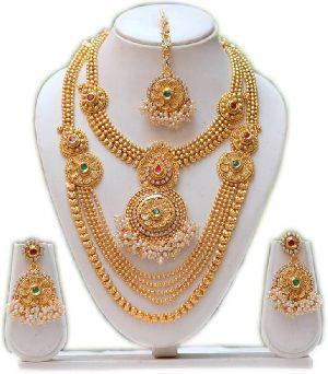 Gold Necklace Set 14