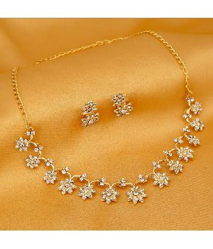 Gold Necklace Set 17