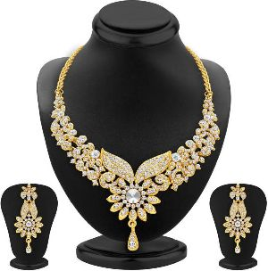 Gold Necklace Set 18