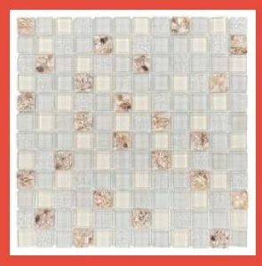 Kitchen Crystal Glass Mosaic Tile