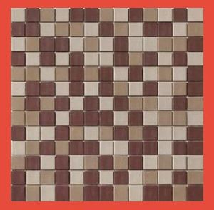 Matte Finish Glass Kitchen Mosaic Tile