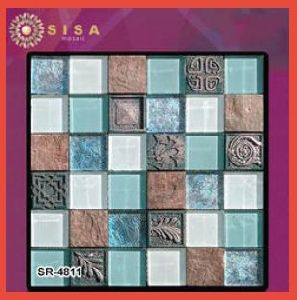 SR-4811 Sisa Glass Mosaic Tile