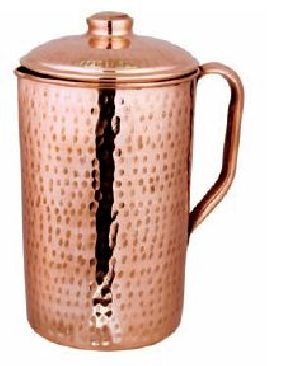 Hammered Jug (copper Knob)