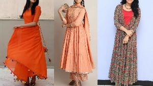 Flared Long Kurtis