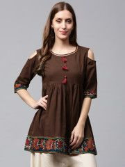Flared Short Kurtis