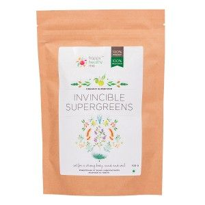 HHM Invincible Supergreens Organic Mix Powder