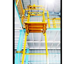 Material handling lift & customized passengers Lift