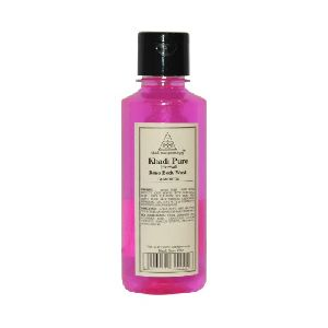 pure rose body wash