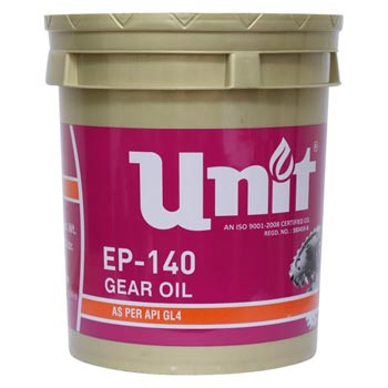 UNIT EP-140 GEAR OIL (API GL4)