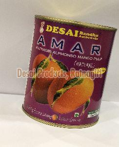Natural Alphonso Mango Pulp