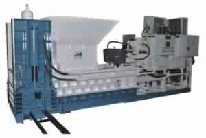Continuous Baler Machine