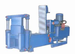 Double Compression Auto Door Baler Machine
