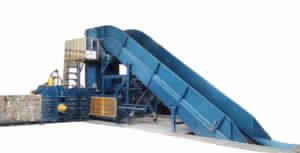 Fully Auto Tie Horizontal Corrugated Scrap Baler